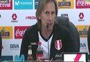 ¿Qué dijo Gareca luego de la derrota contra Costa Rica?