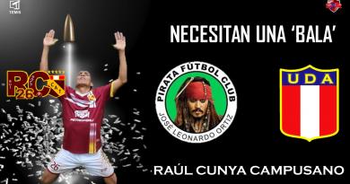 Raúl Cunya: Requieren sus servicios para jugar La Finalisima