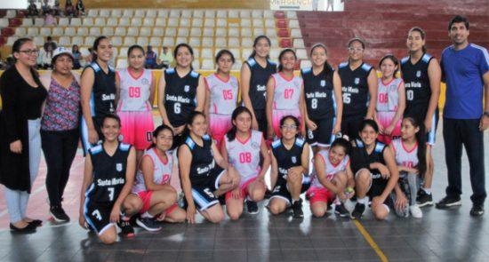 Santa María bicampeón en básquet escolar