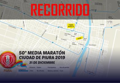 Media Maratón: recorrido de la quincuagésima edición