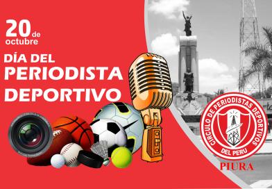 Feliz Día, Periodista Deportivo del Perú